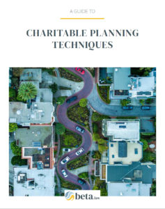 charitable planning techniques guide